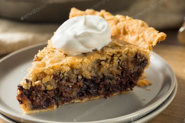 Homemade Chocolate Walnut Derby Pie