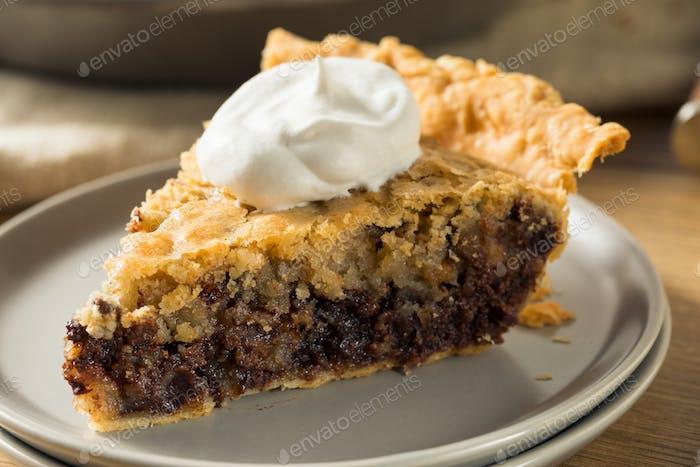 Hausgemachte Schokolade Walnuss Derby Pie