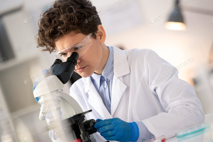 Researcher of pharmaceutical company