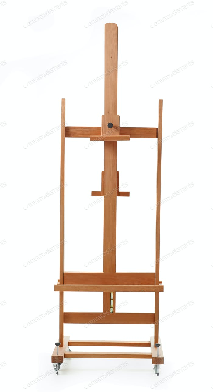new wooden easel