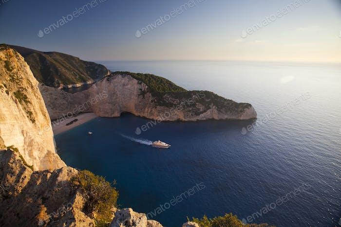 Beautiful Zakynthos beach