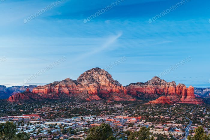 Sedona View Arizona USA