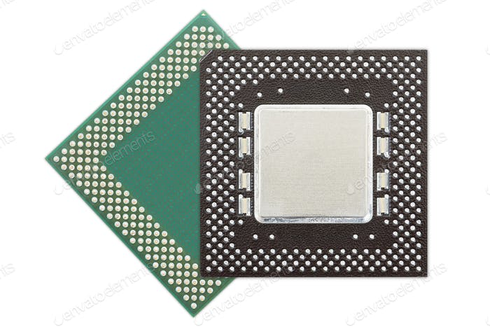 Central processing unit or Computer chip-10