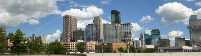 Downtown Minneapolis Minnesota Looking Southeast