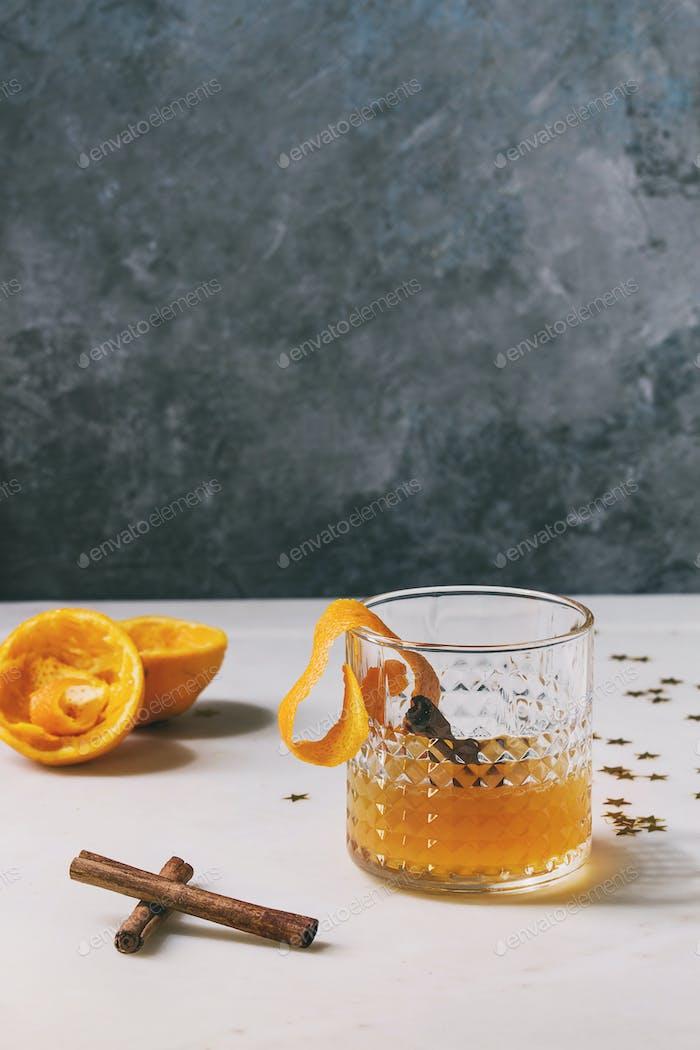 Whiskey Orange Cocktail