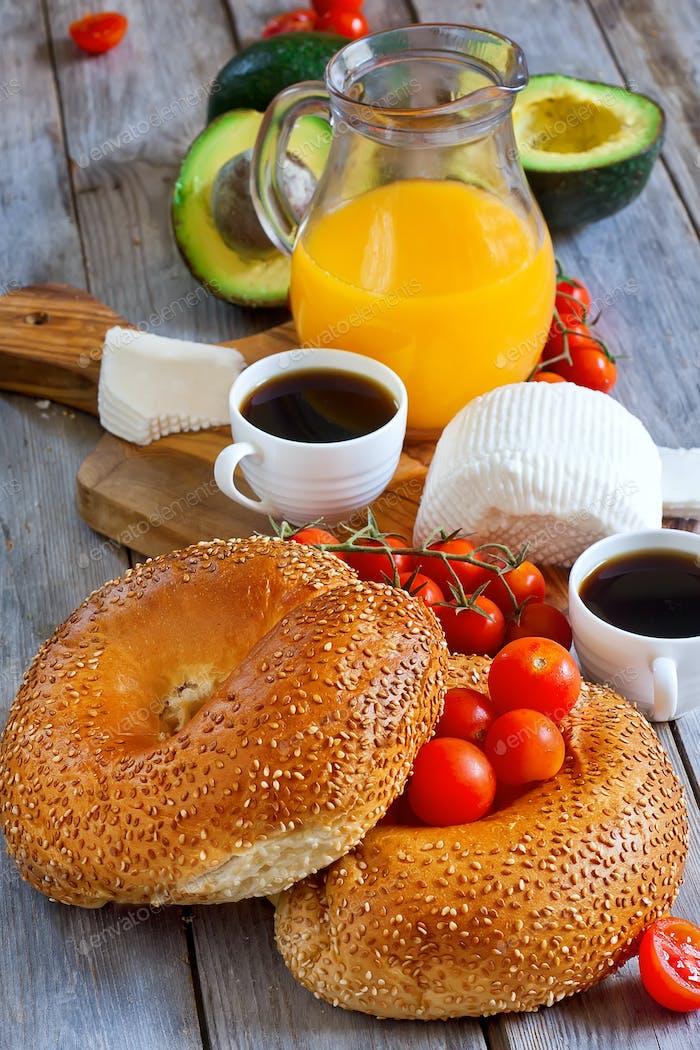 Israelian breakfast