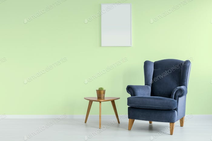 Simple green room
