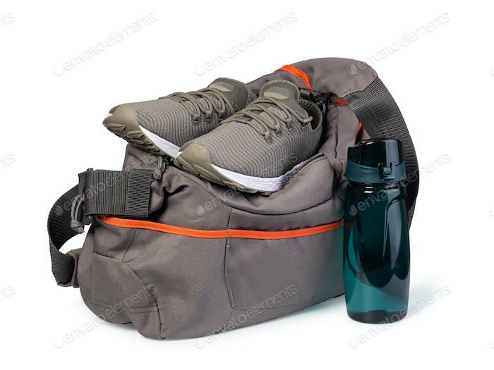 Sporttasche mit Sportausrüstung
