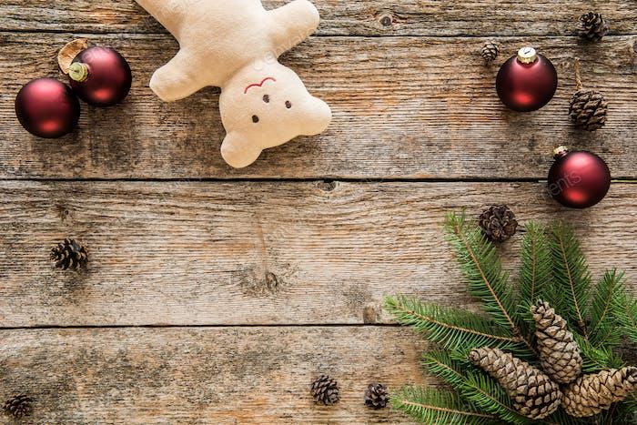 Weihnachten Hintergrund, Raum für Text