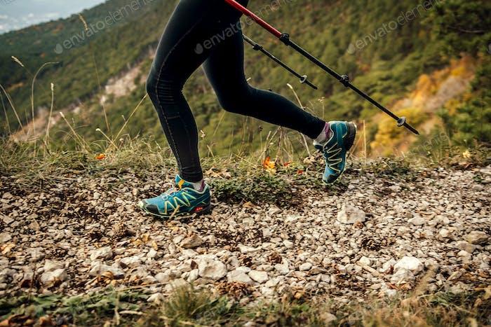 legs woman skyrunner