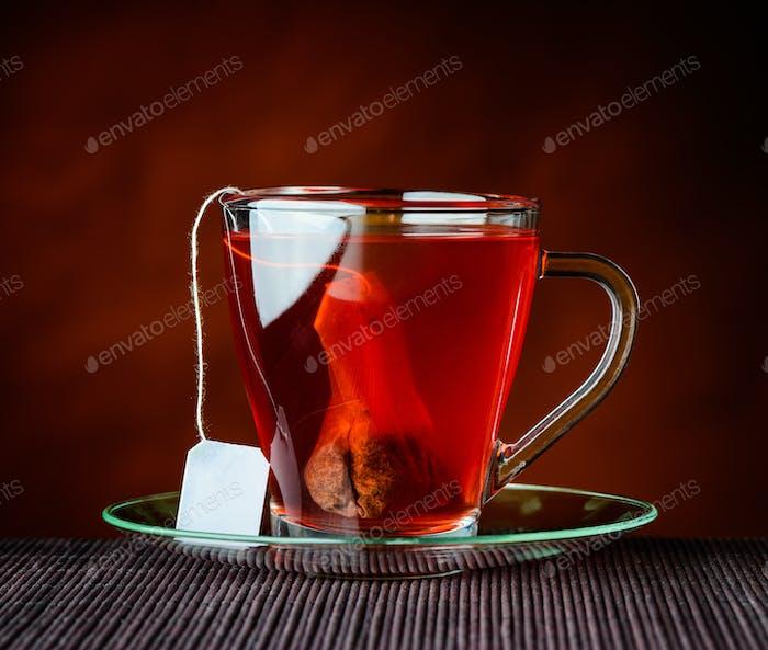 Red Tea with Tea-Bag