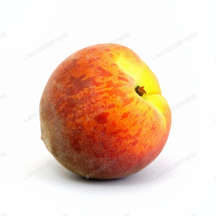 Ripe juicy peach