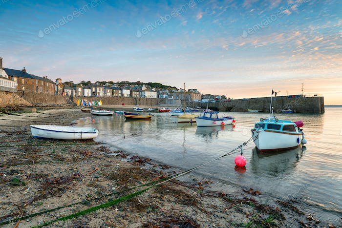 Fishing Boats at Mousehole