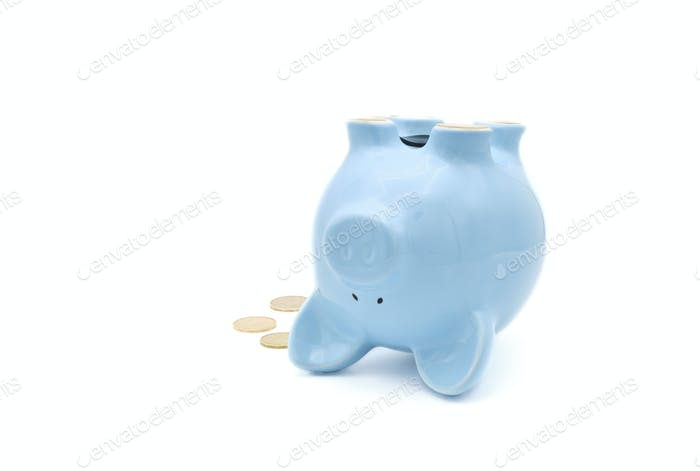 Piggy Bank on Back