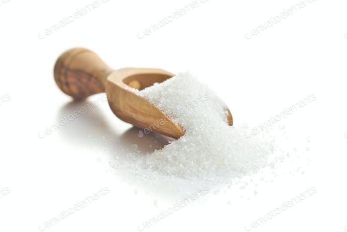 Sweet white sugar.