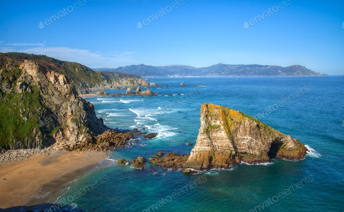 The Cliffs of Loiba in Northern Galicia