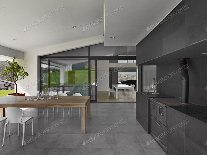 Kitchen and the Dining table in the veranda 2217011