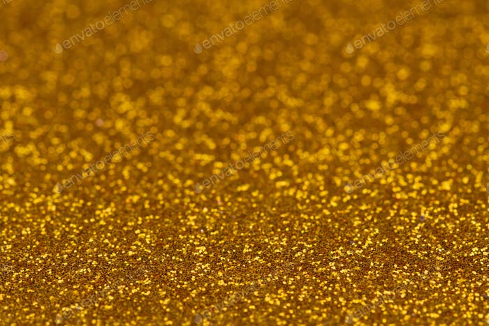 Glittering gold background texture