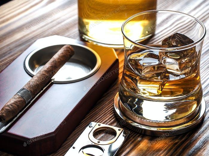 Whisky und Zigarren