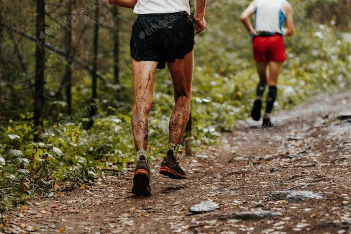 dirty feet runner man