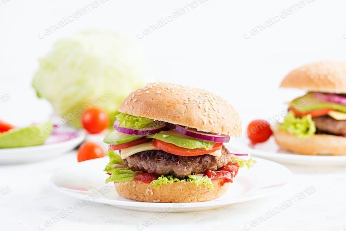 Big sandwich - hamburger burger