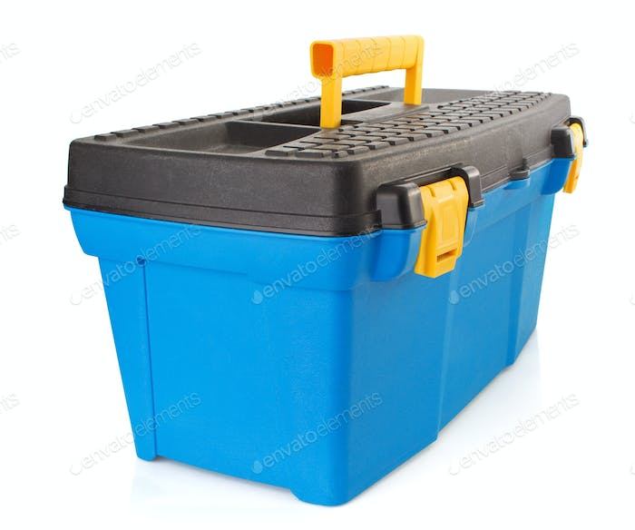 toolbox  on white background