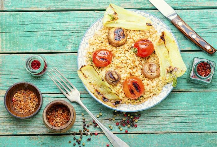 Traditioneller türkischer Pilaw