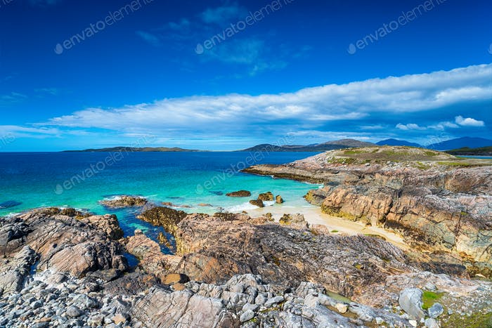 Rugged Coastline of the Isle of Harris
