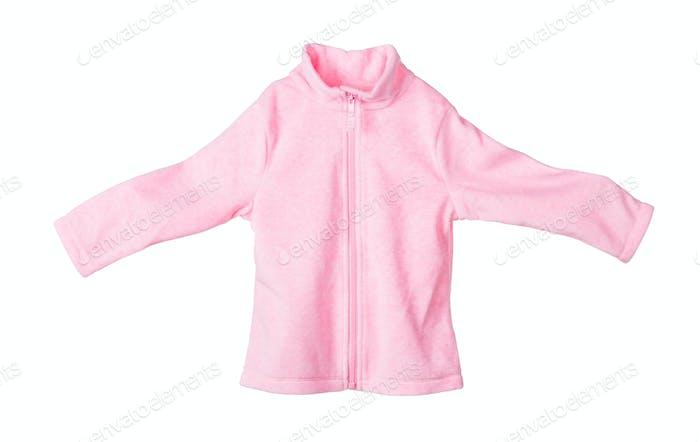 Childrens flannel jacket.