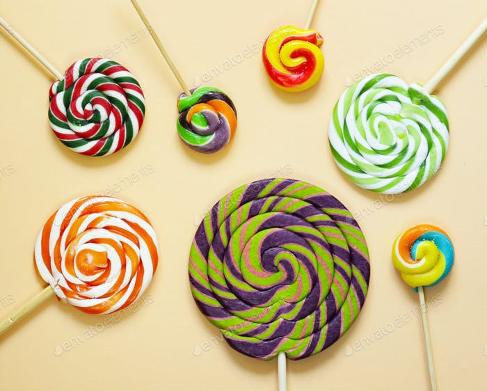 Thumbnail for Colorful Lolly Pop Candy