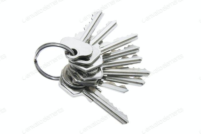 Ein Bündel von Schlüsseln