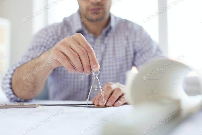Engineer Drawing Plans