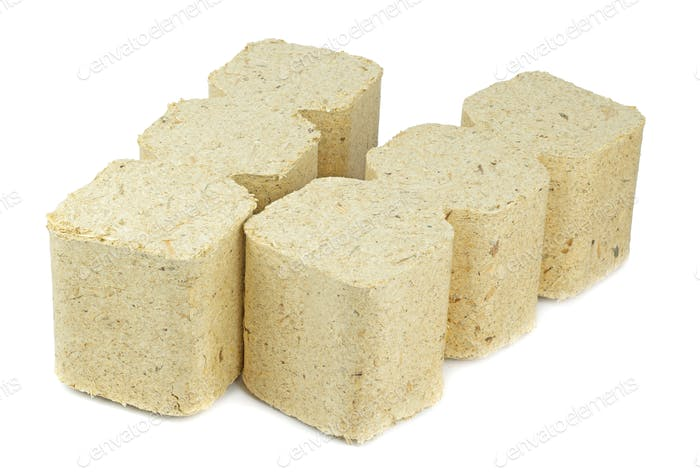 Wooden Briquettes for Burning