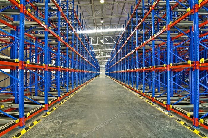 Storage pallet  racking system for storage distribution center