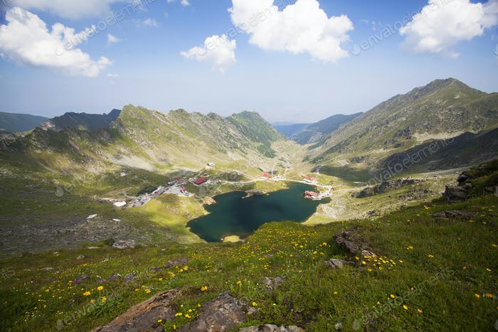 Balea Lake, Fagaras Mountains, Romania