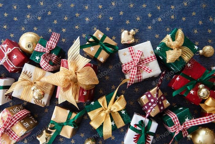 Festliche kleine Geschenke für Weihnachten
