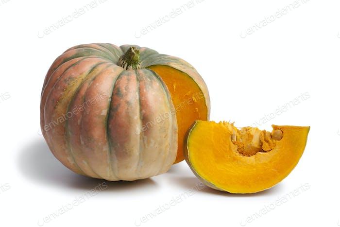 Speckled hound pumpkin