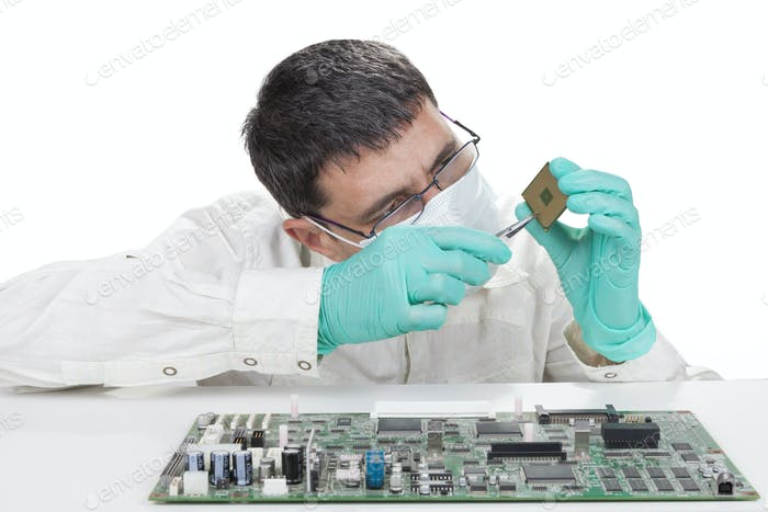 Verifying Microchip