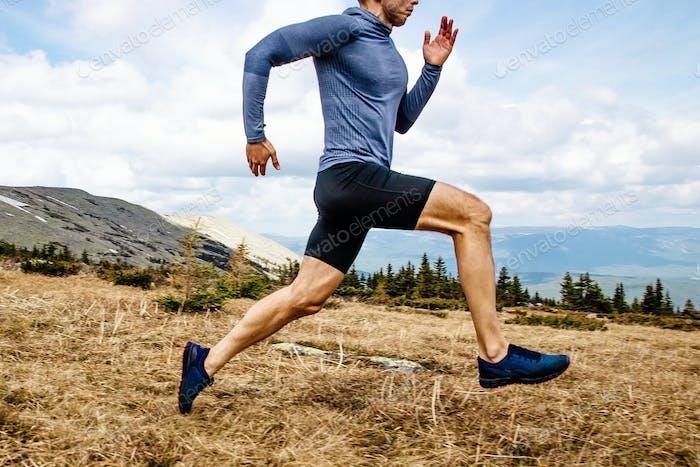 running man athlete