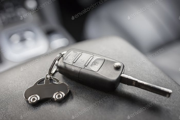 Car shape keyring and remote control key