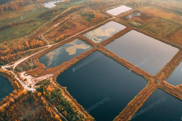 Retention Basins, Wet Pond, Wet Detention Basin Or Stormwater Management Pond, Is An Artificial Pond