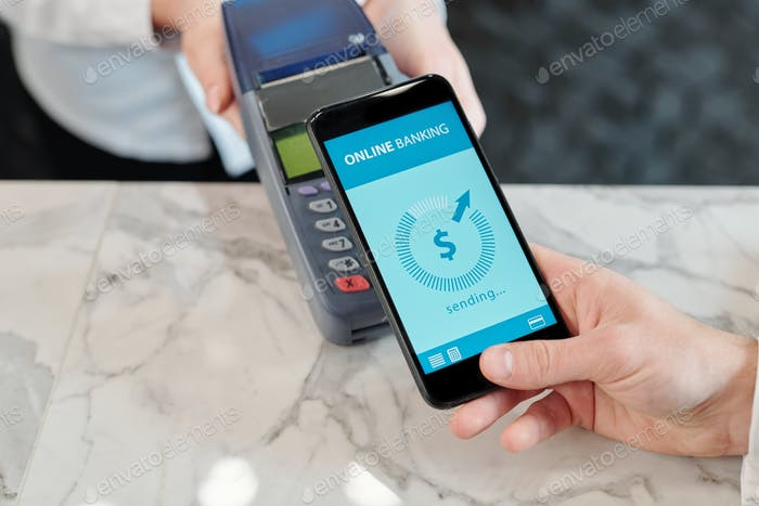 Hacer pagos NFC