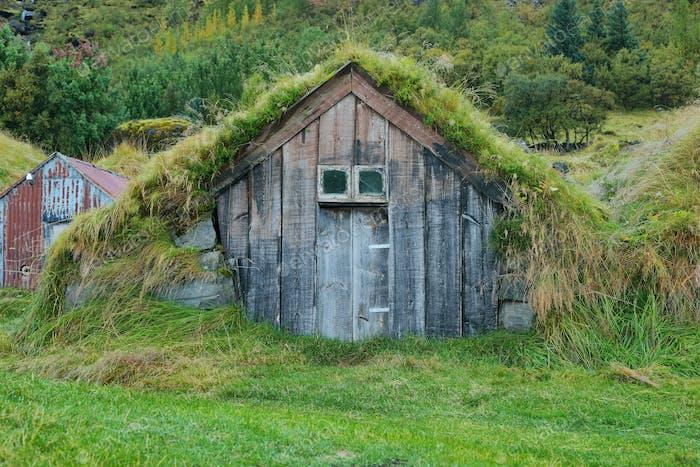 Wooden house of Nupstadur