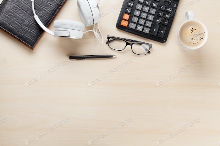 Schreibtisch-Arbeitsplatz