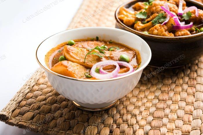 Potato Curry or Aloo Sabzi
