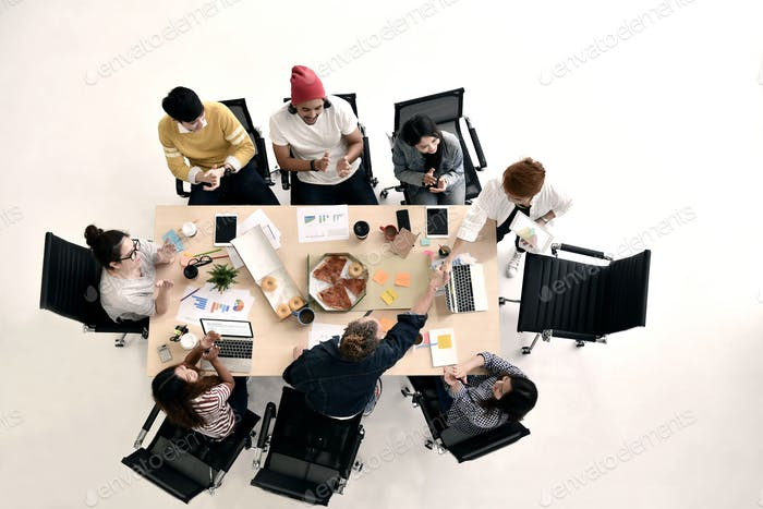 group of business
