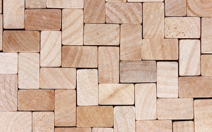 Wood cubes background