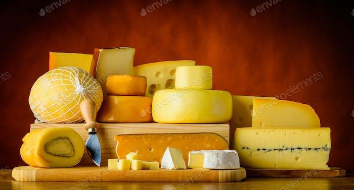 Yellow Hard Cheese