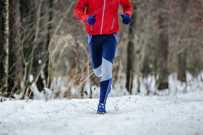 Man Runner läuft