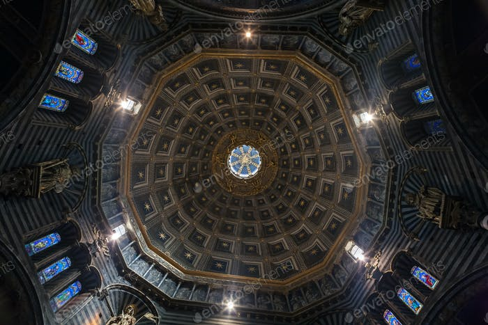 dome of the Church from inside